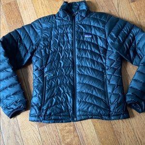 Women's Black Patagonia nano puff jacket